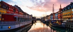 Denmark Copenhagen canal